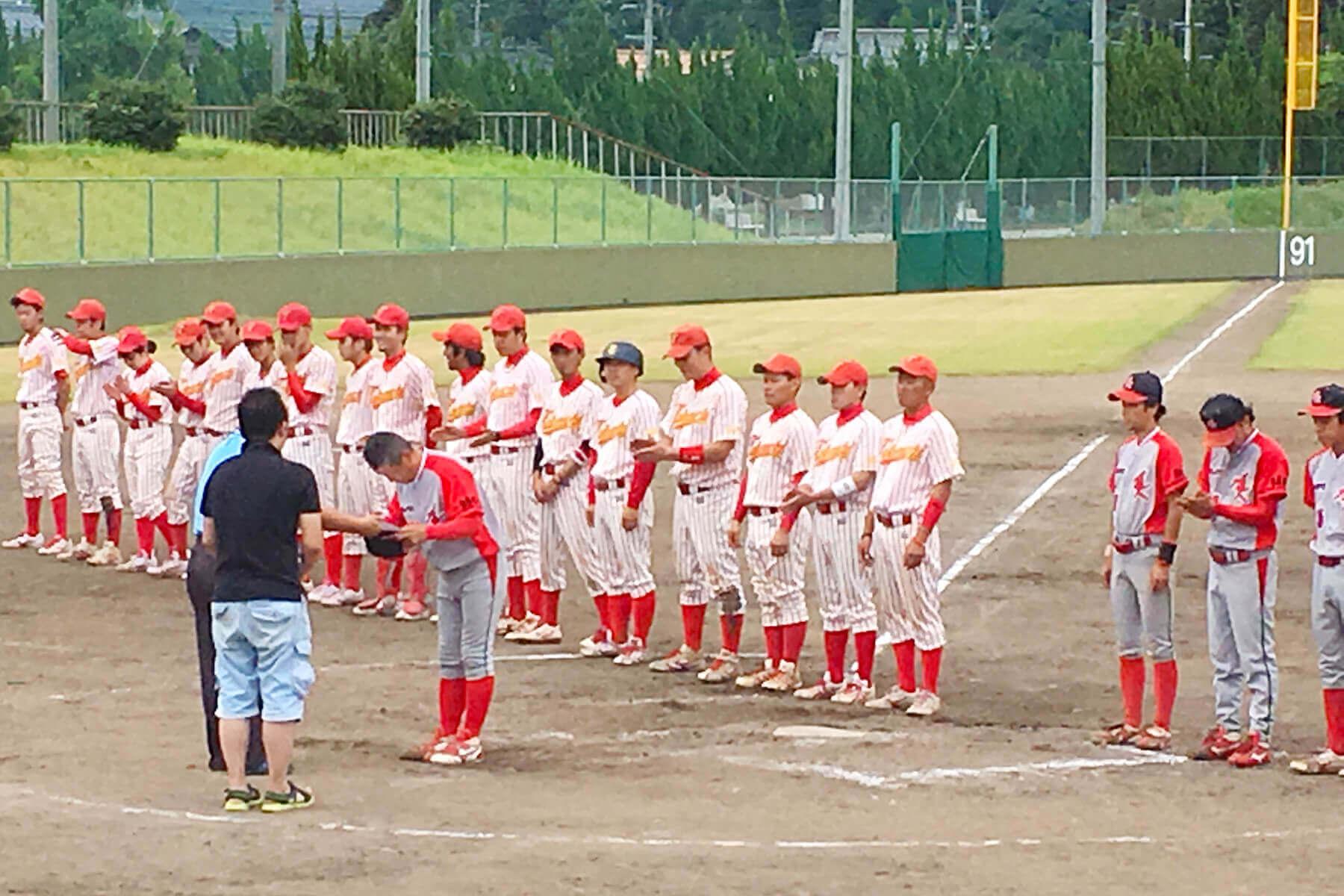 朝日I&Rクラブ武雄は武内体協野球部を2-0で下し、第56回佐賀県アマチュア野球王座決定戦の武雄地区で優勝しました。