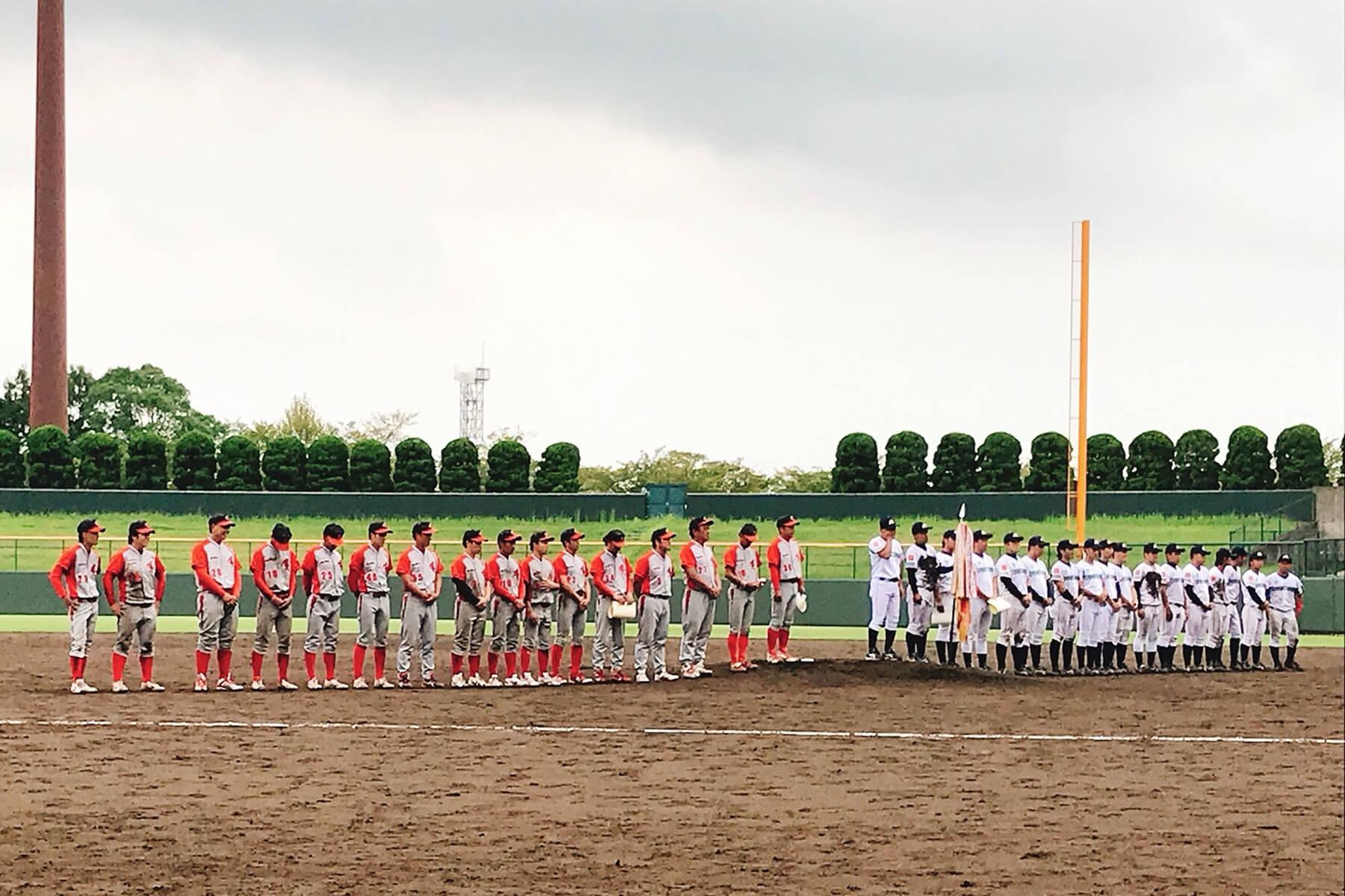 第56回佐賀県アマチュア野球王座決定戦大会の決勝、朝日I&Rクラブ武雄は惜しくも1-5で準優勝に終わりました。