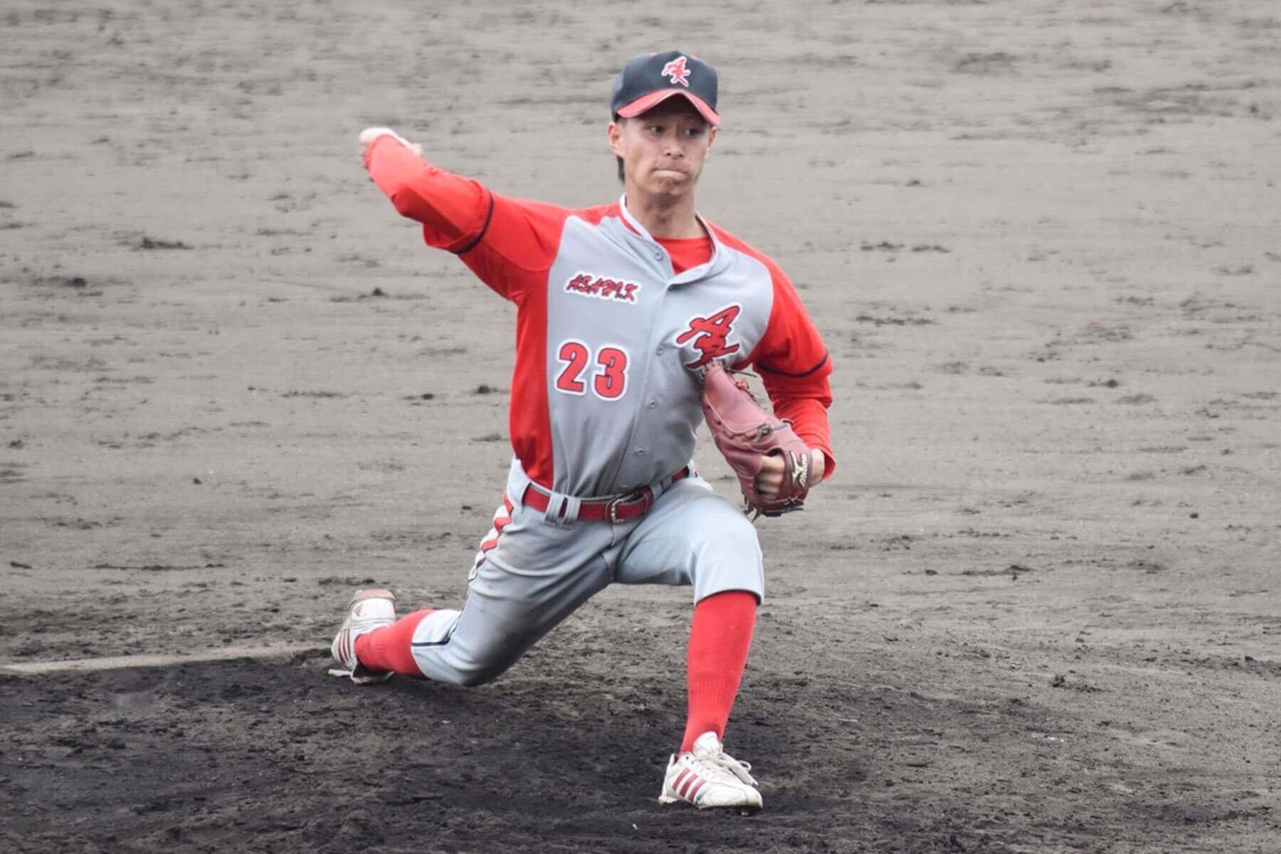 朝日I&Rクラブ武雄の投手、森拓也選手は優秀選手賞を受賞しました。