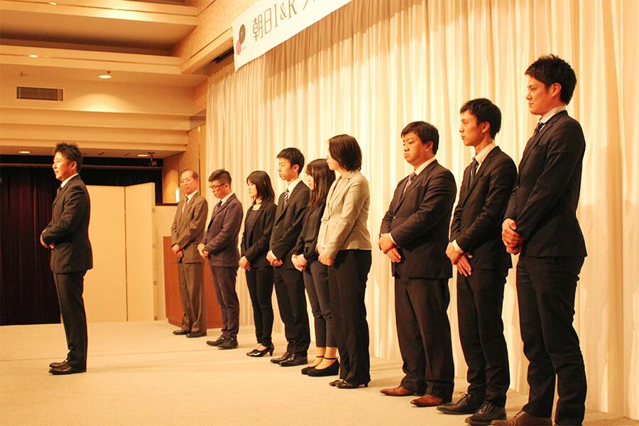 朝日I&Rグループ 2019年度新入社員の挨拶