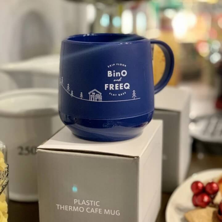BinO・FREEQ HOMESオリジナルマグカップ